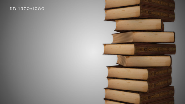 A Stack of Books Background 2