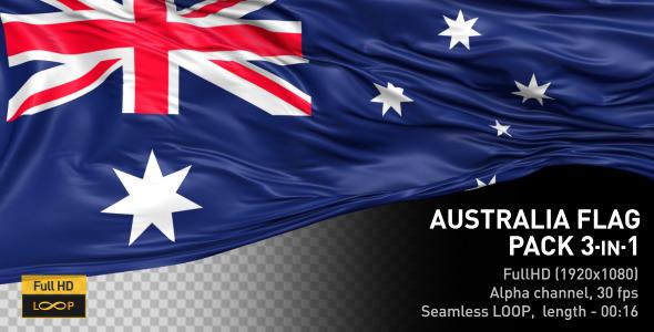 Australia Flag Pack