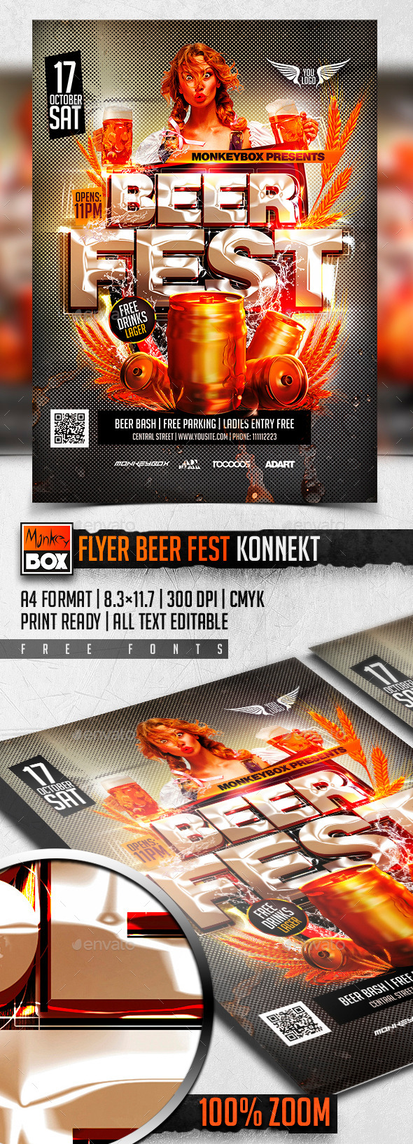 Flyer Beer Fest Konnekt - Clubs & Parties Events