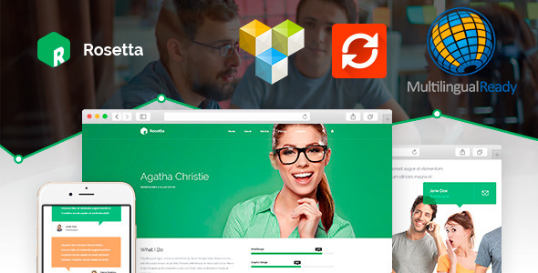 Rosetta – Multipurpose WordPress Template