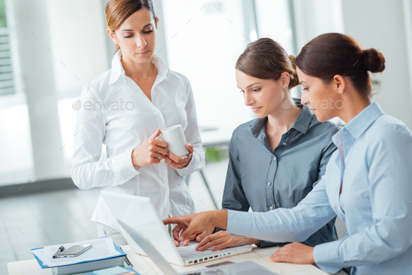 Successful women in business - Stock Photo - Images
