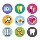 Dental Vector Icons Set Clinic Logo - GraphicRiver Item for Sale