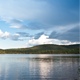 Clouds Over the Lake - VideoHive Item for Sale