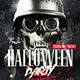 Classy Halloween Party | Flyer Template - GraphicRiver Item for Sale