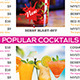 Drink Menu Templates - Generic - GraphicRiver Item for Sale