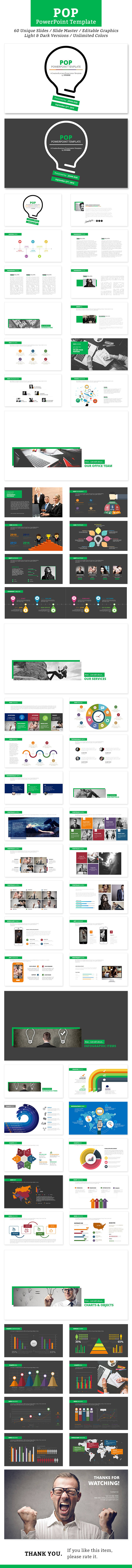 Pop PowerPoint Template - Business PowerPoint Templates