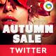 Autumn Sale Twitter Header - GraphicRiver Item for Sale
