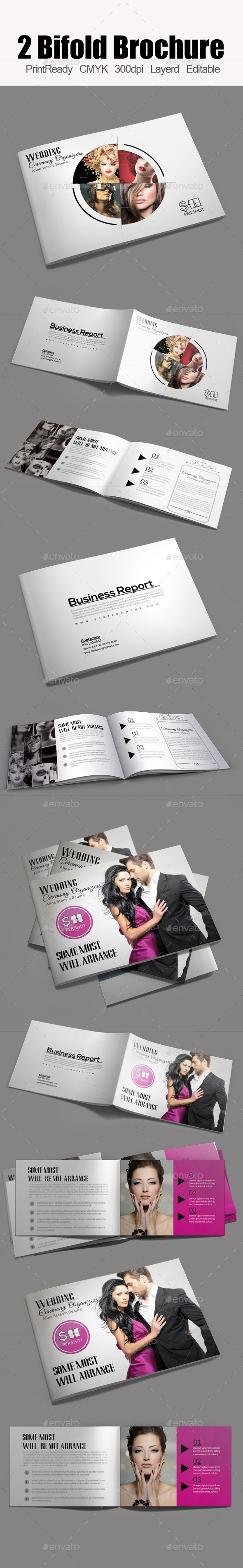 Bifold Brochure Template Bundle