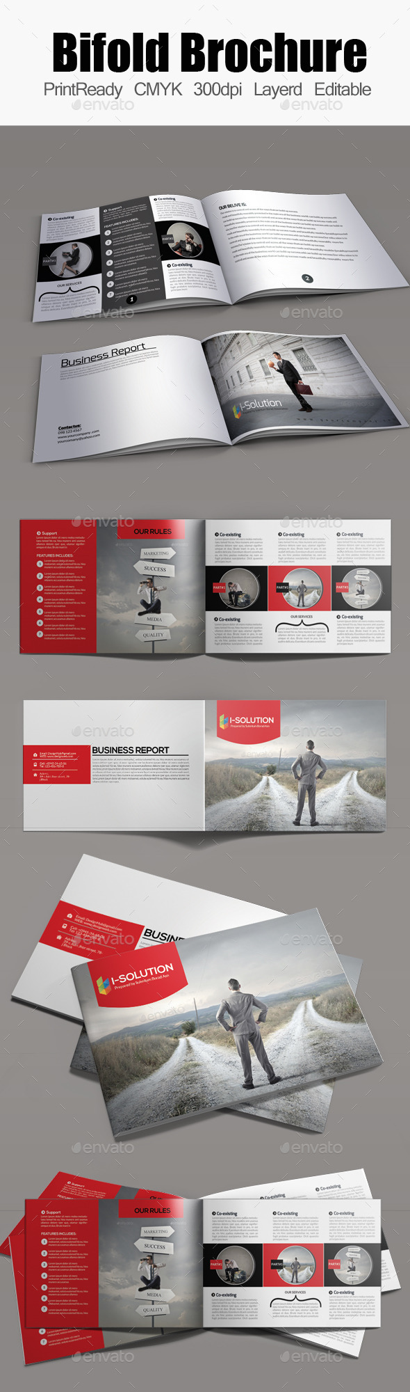 Bifold Brochure Template Bundle - Corporate Brochures
