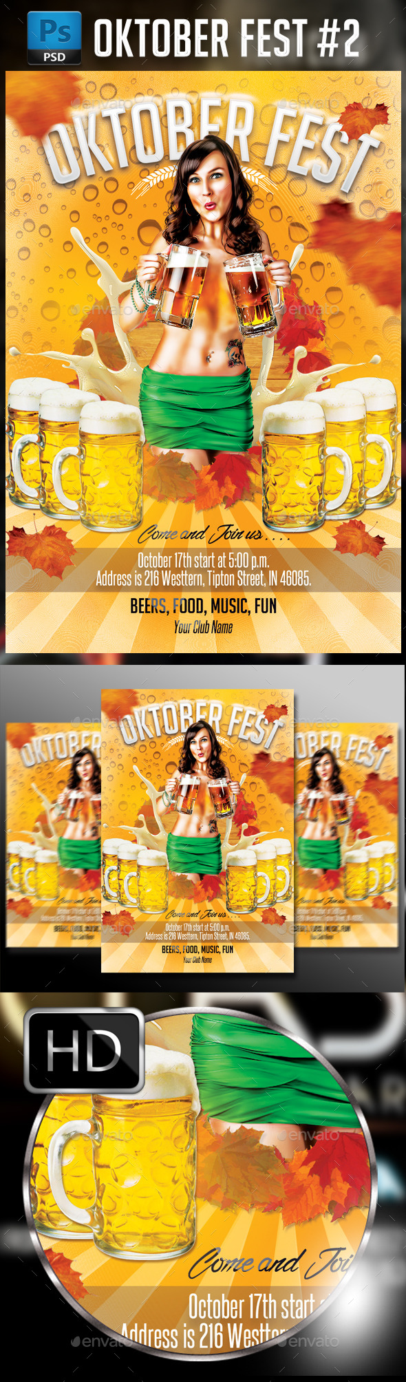 Oktober Fest #2 - Events Flyers