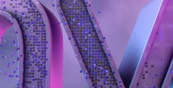 E3D Pixels Logo Revel