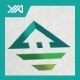 Top Eco House - Green Villa Logo - GraphicRiver Item for Sale