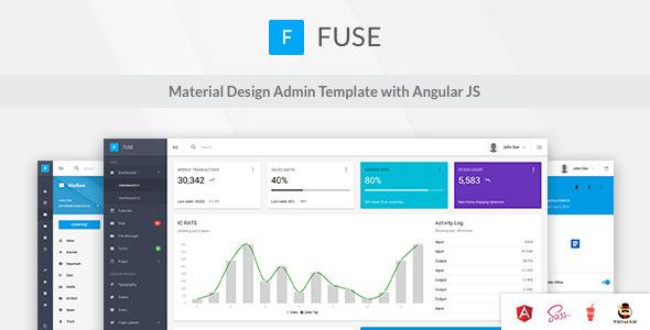 Fuse – Material Design Admin Template
