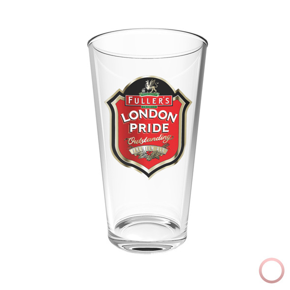 London Pride Beer Glass - 3DOcean Item for Sale
