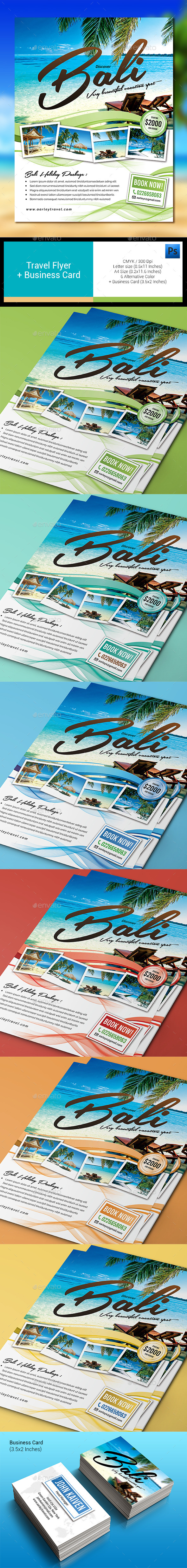 Travel Flyer & Business Card