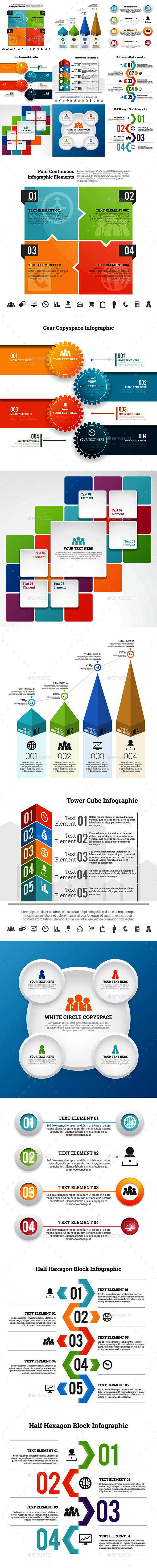 Infographic Set 9 - Infographics