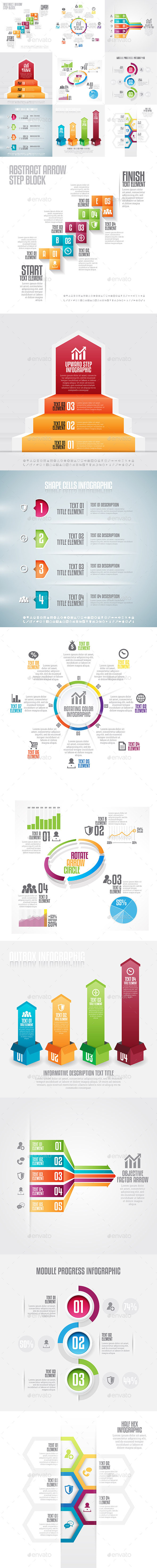Infographic Set 18 - Infographics