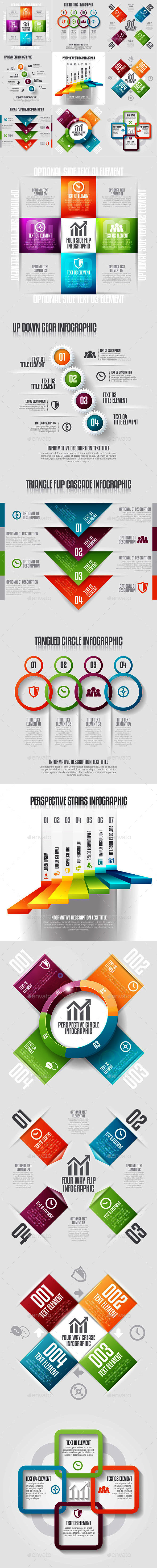 Infographic Set 19 - Infographics