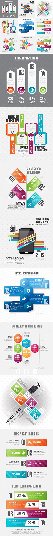 Infographic Set 20 - Infographics