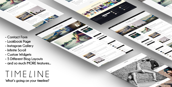 Timeline – Responsive WordPress Blog Theme