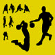 Basketball Player Silhouettes - GraphicRiver Item for Sale