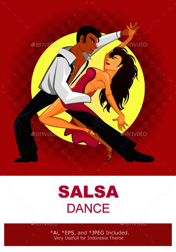 Salsa Dance - Sports/Activity Conceptual