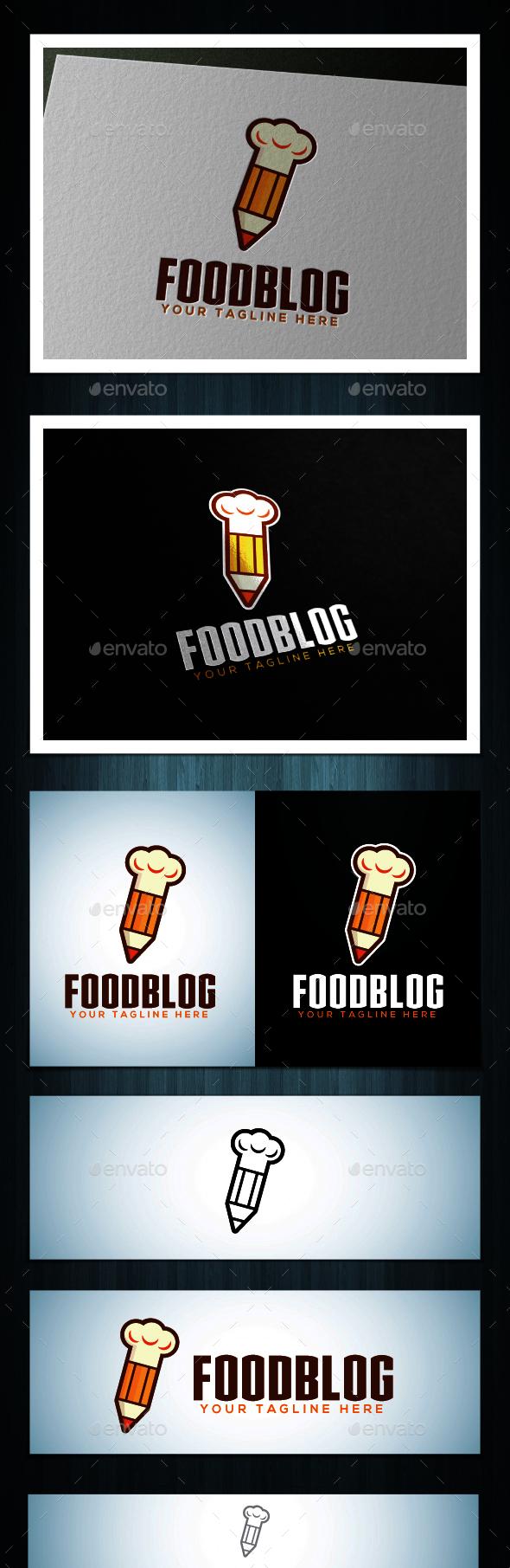 Foodblog - Food Logo Templates