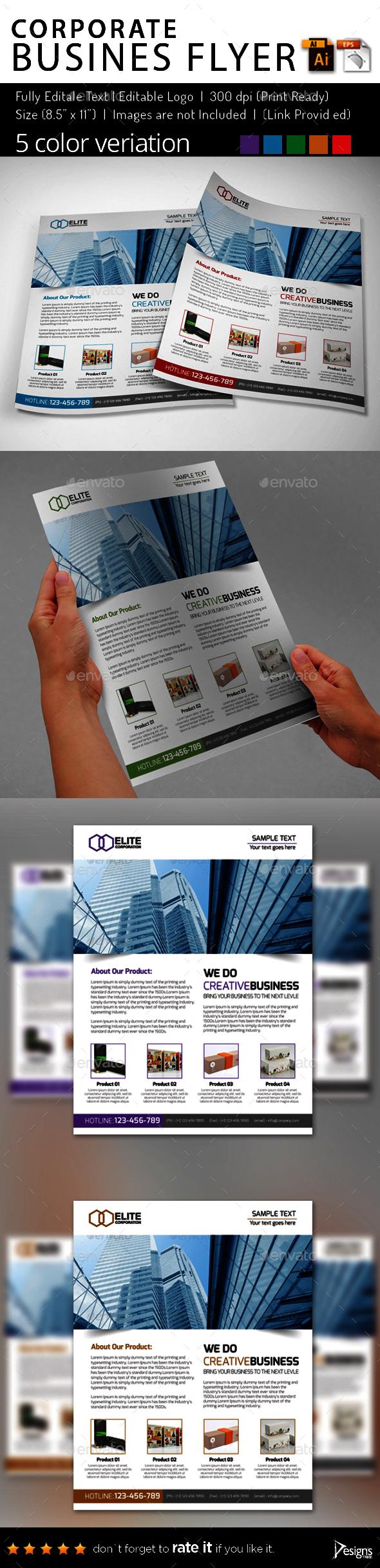 Multipurpose Business Flyer 73