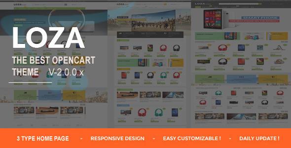 Lozastore- Multipurpose Responsive OpenCart Themes - Shopping OpenCart