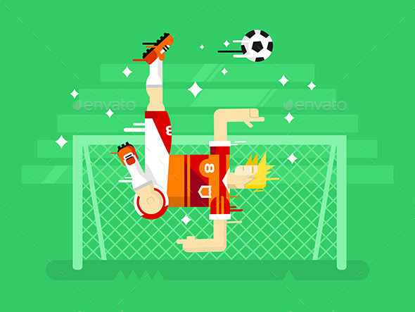 Soccer Player - Sports/Activity Conceptual