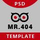 Mr.404 Error Page