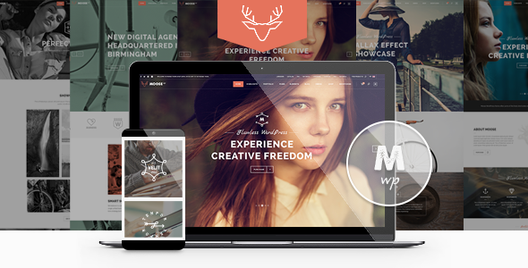 Moose - Creative Multi-Purpose Theme - Creative WordPress