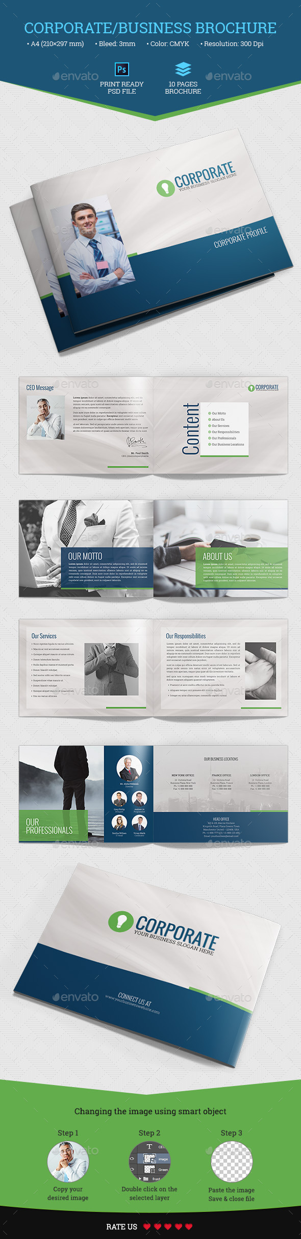 Corporate/Business Brochure - Corporate Brochures