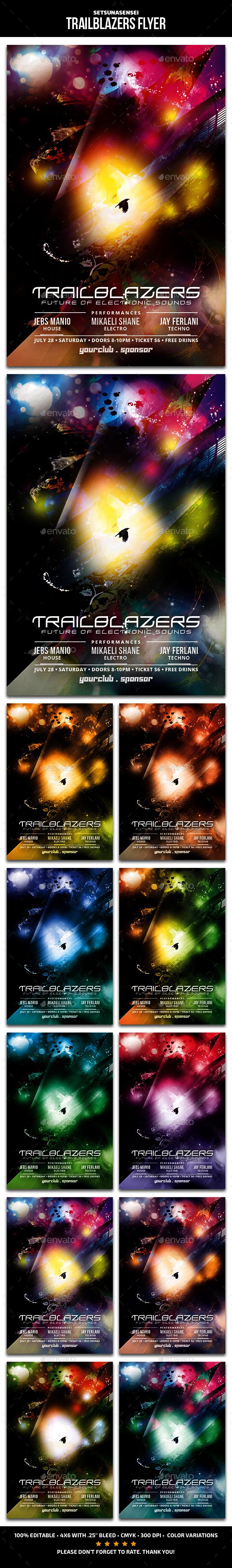 Trailblazers Flyer