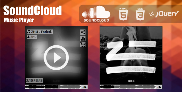 SoundCloud Music Player jQuery