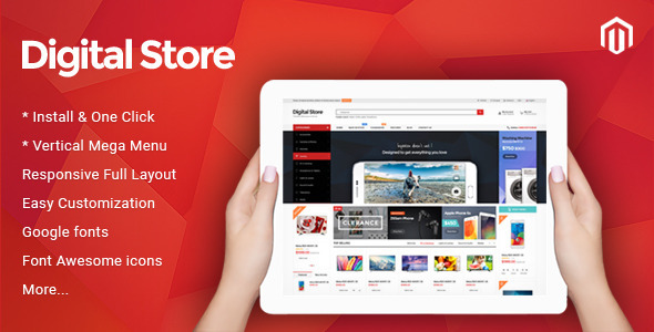 TV Digital – Responsive Magento Theme