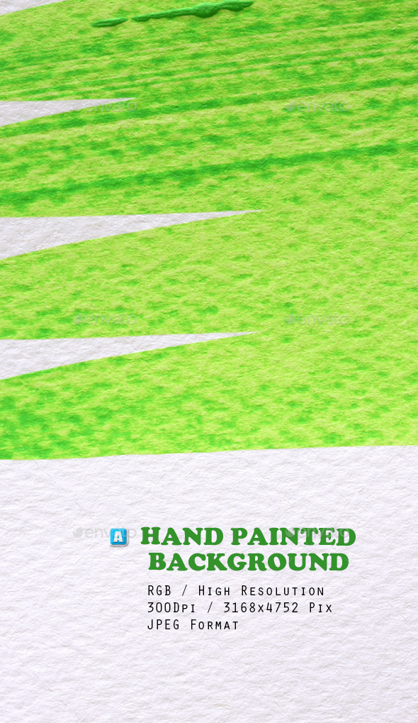 Hand Painted Background 0190 - Art Textures