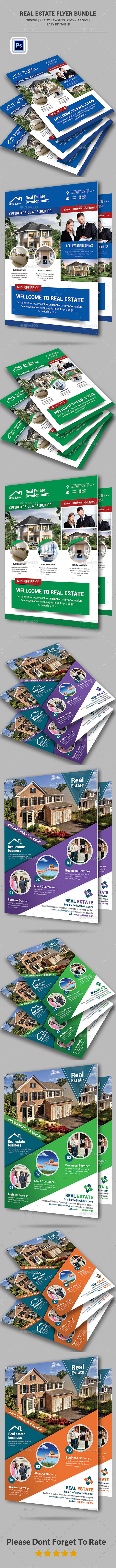 Real Estate Flyer Bundle - Corporate Flyers