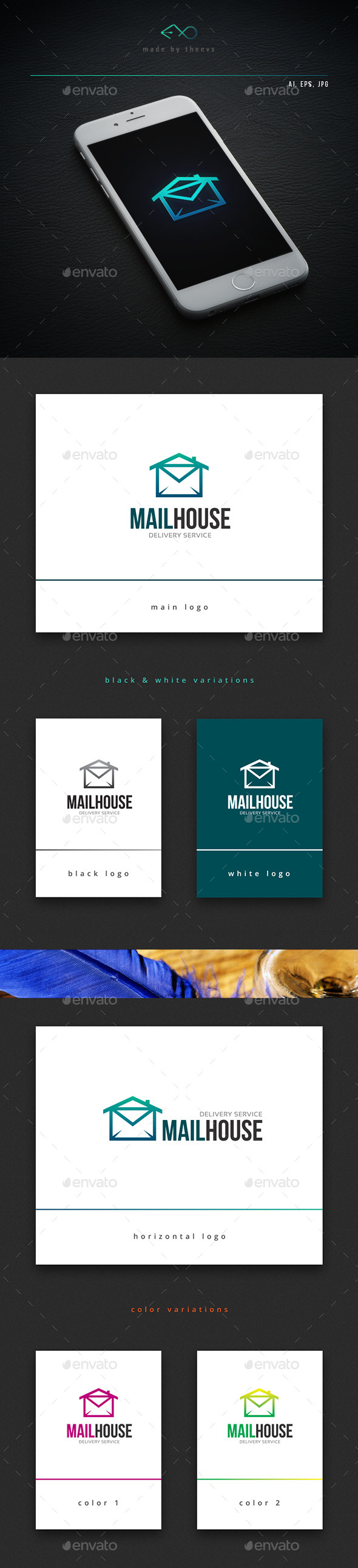 Mailhouse - Objects Logo Templates