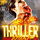 Thriller Vampire Halloween | Flyer Template - GraphicRiver Item for Sale