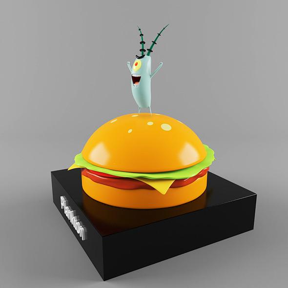 Plankton - 3DOcean Item for Sale