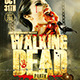 Walking Dead Halloween | Flyer Template - GraphicRiver Item for Sale