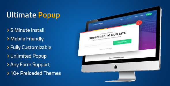 Ultimate PopUp WordPress - CodeCanyon Item for Sale