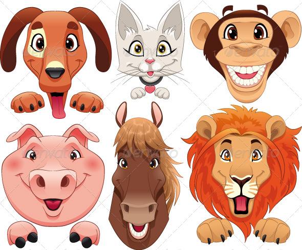 Animals Portraits - Animals Characters
