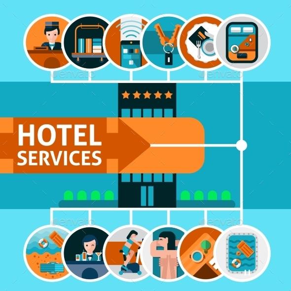 Hotel Services Concept - Travel Conceptual