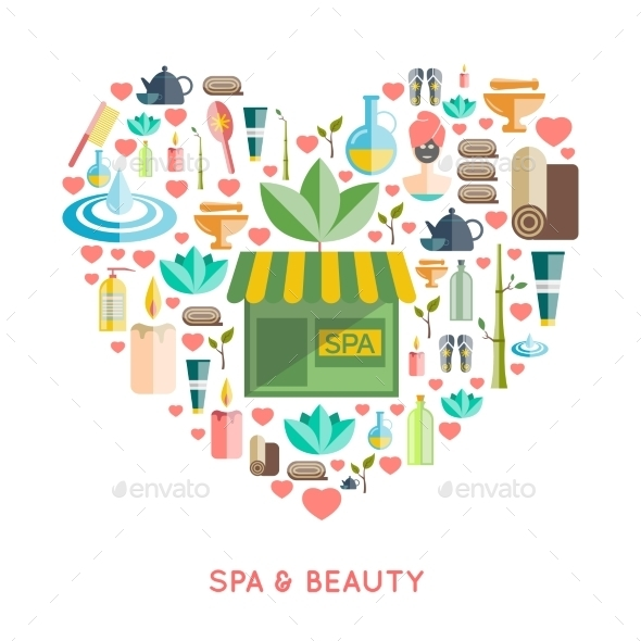 Spa And Beauty Concept  - Health/Medicine Conceptual