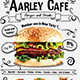 Doodle Cafe Menu + Business Card - GraphicRiver Item for Sale