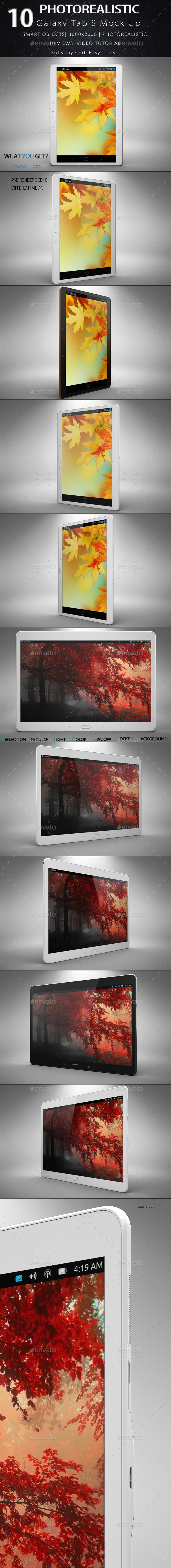 Galaxy S Tab Mock Up