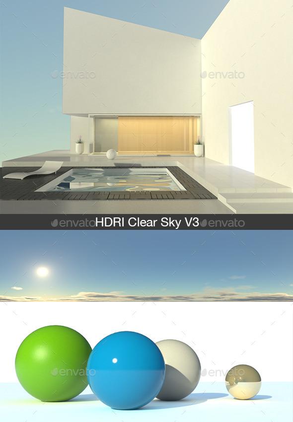 HDRI Clear Sky V3 - 3DOcean Item for Sale