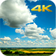 Lamb Clouds Over the Field - VideoHive Item for Sale